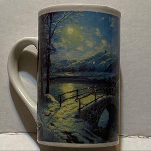 Thomas Kinkade Christmas mug